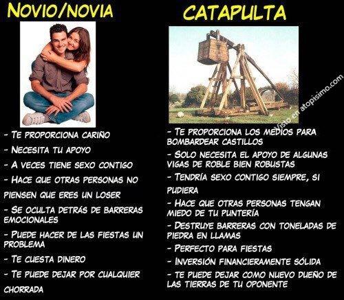 Novio/Novia o catapulta