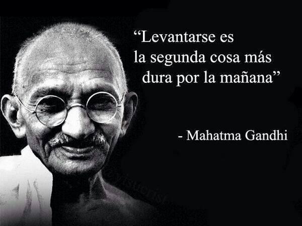 Ghandi sabe