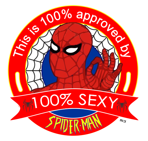 abuela fan de SpiderMan