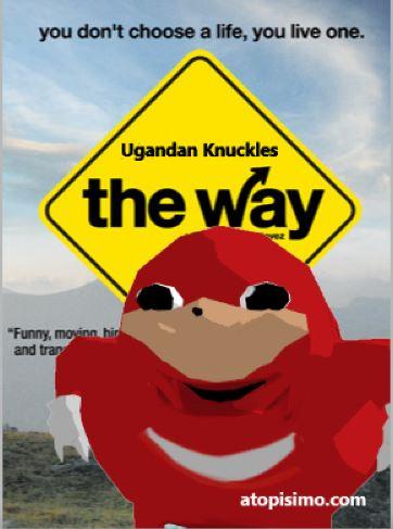 Así sería Ugandan Knuckles la película