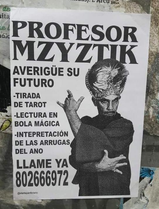 El Profesor Mzyztik y su predicción del futuro