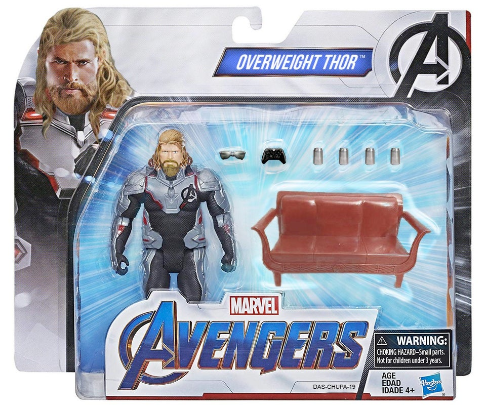 Fat thor toy