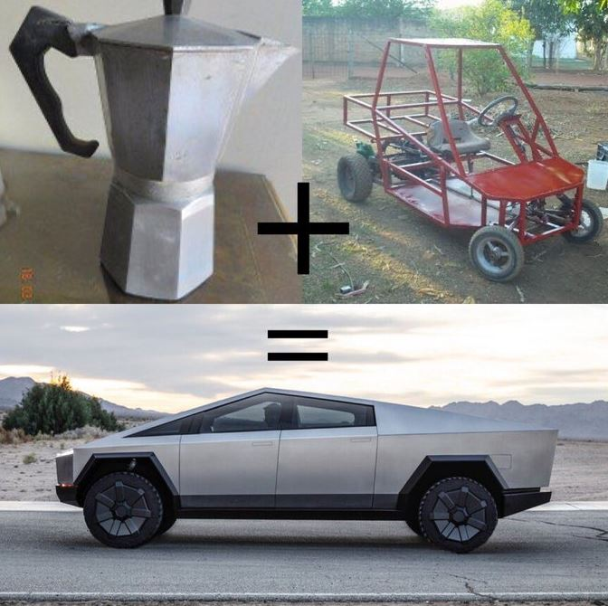 Tesla Cybertruck meme