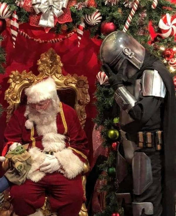 Mandalorian Navidad