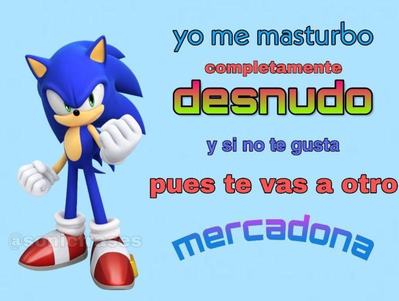Sonic meme mercadona
