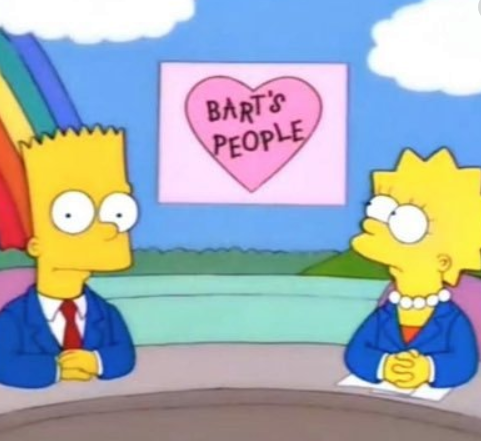 Gente de Bart noticias de mierda
