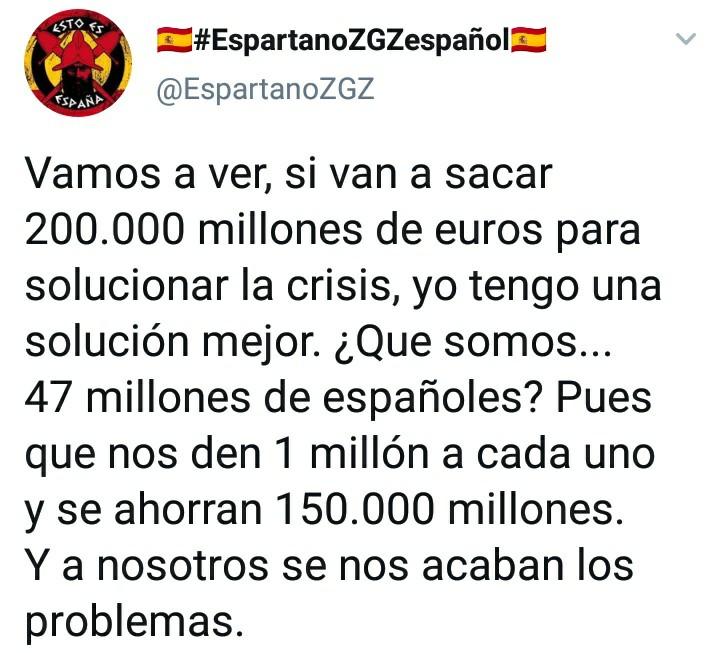 Espartano 47 millones de españoles