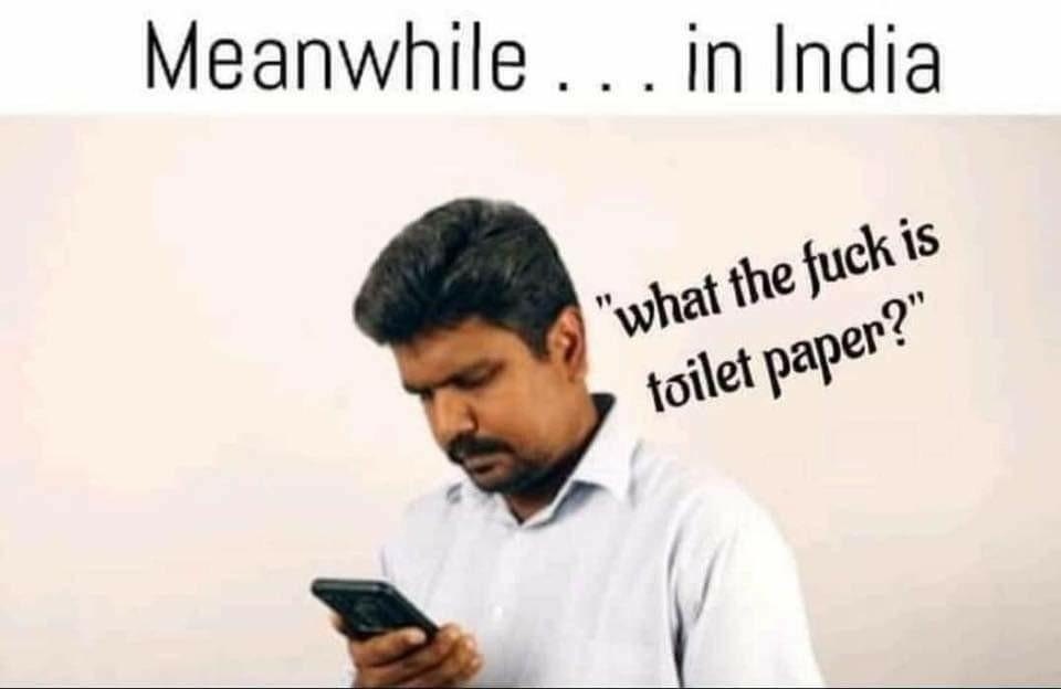 India Toilet Paper