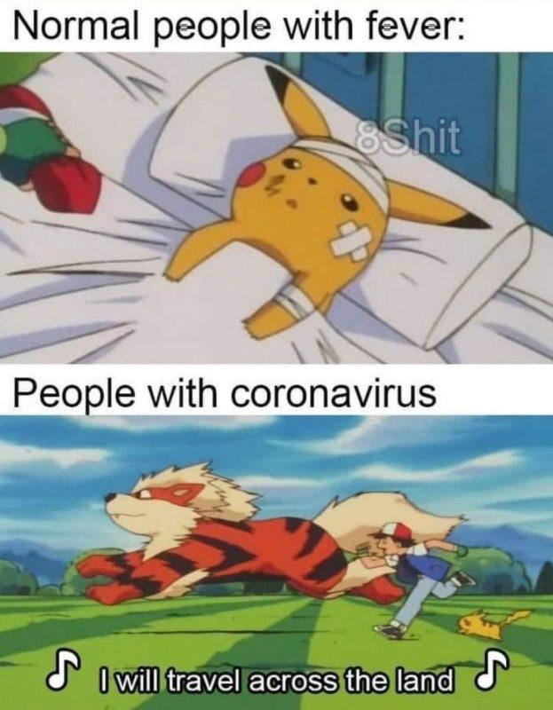 Pokemon Coronavirus