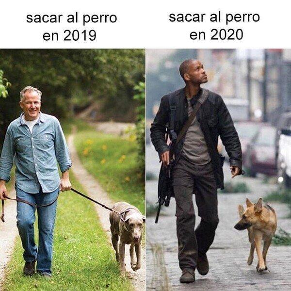 Meme Will Smith sacando perro