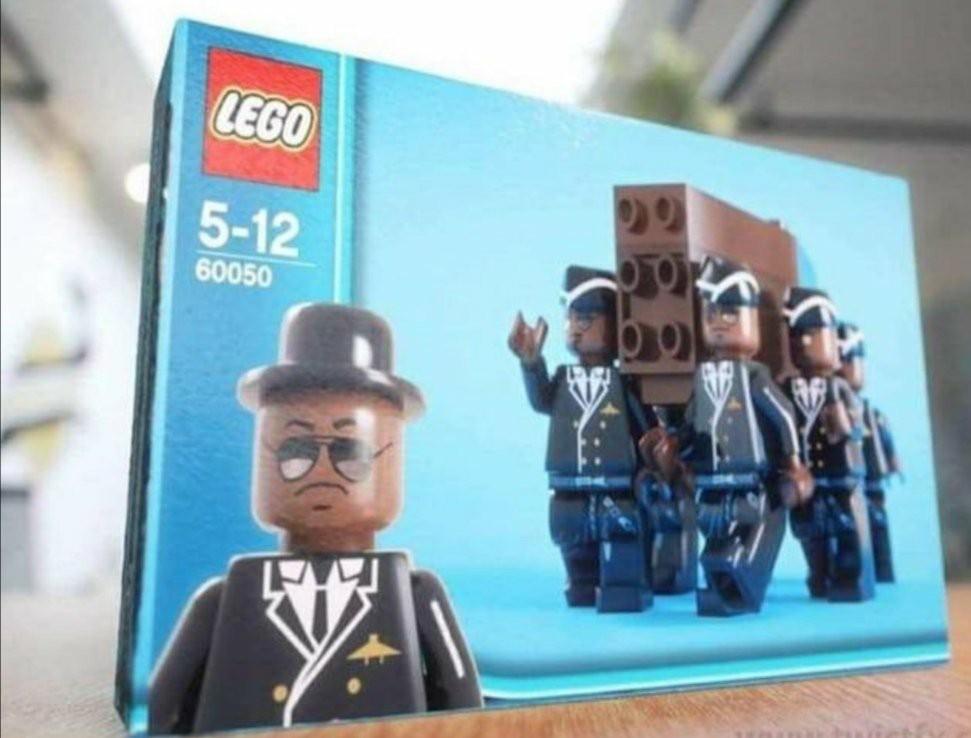 Lego Coffin Meme