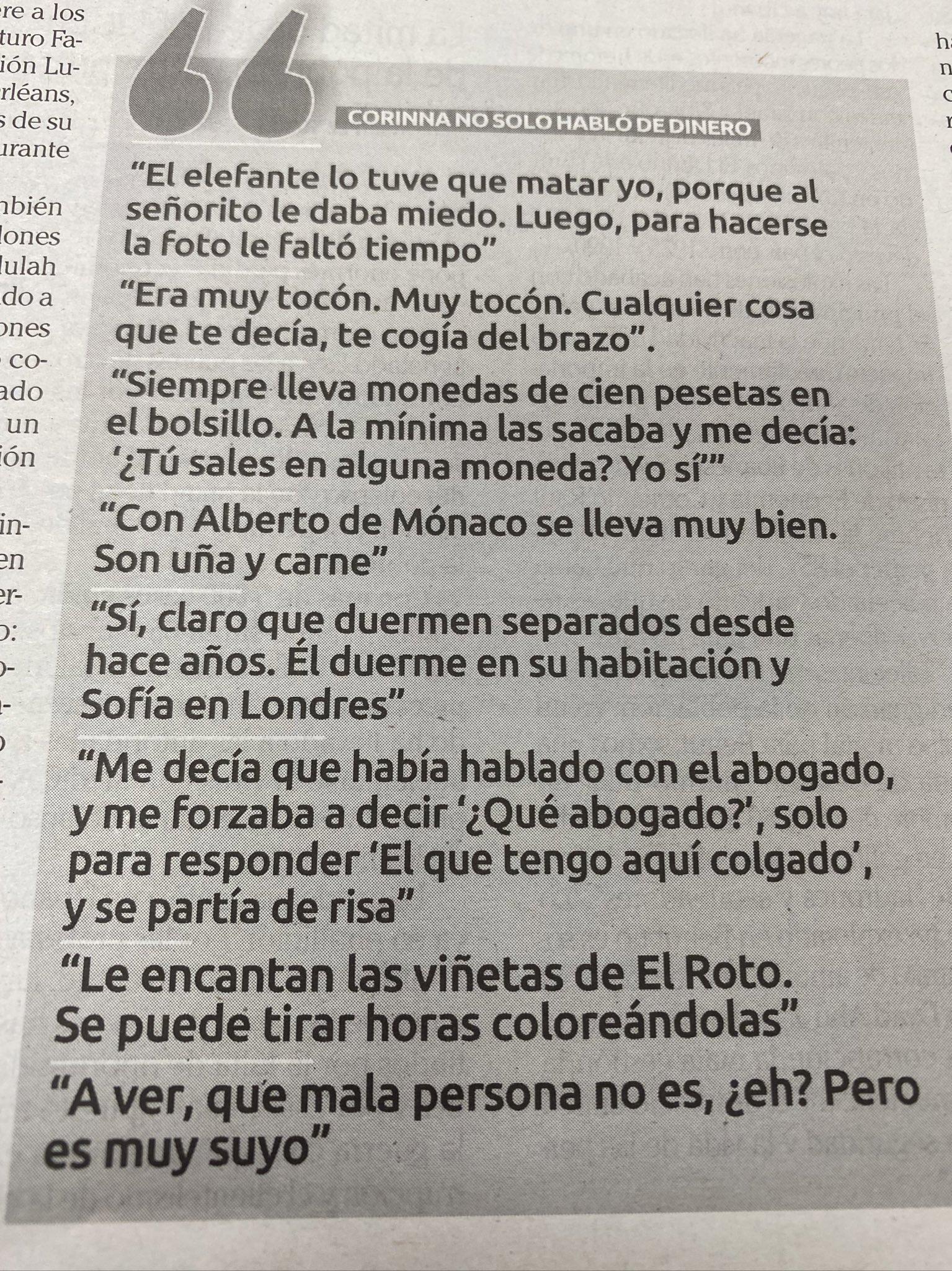 Frases El Faro de Vigo Corina