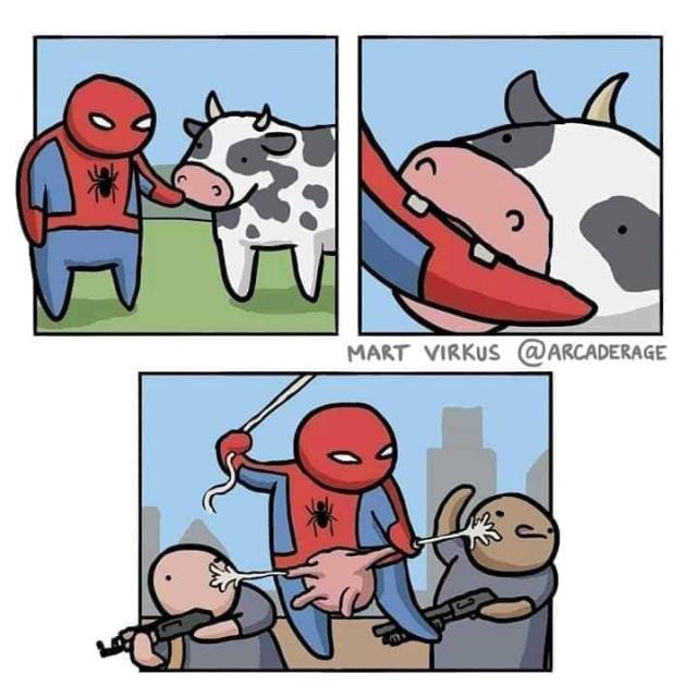 Viñeta Spiderman