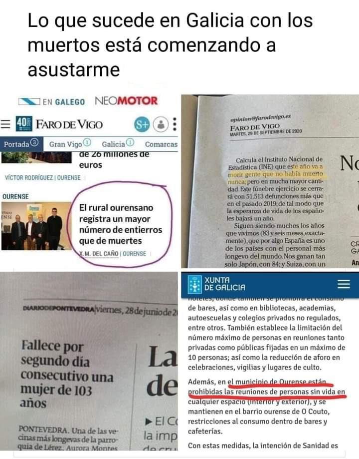 En Galicia la muerte funciona de otra manera