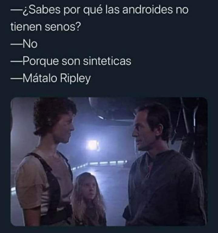 Androide Robot Ripley