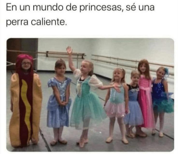 Sé la princesa que quieras