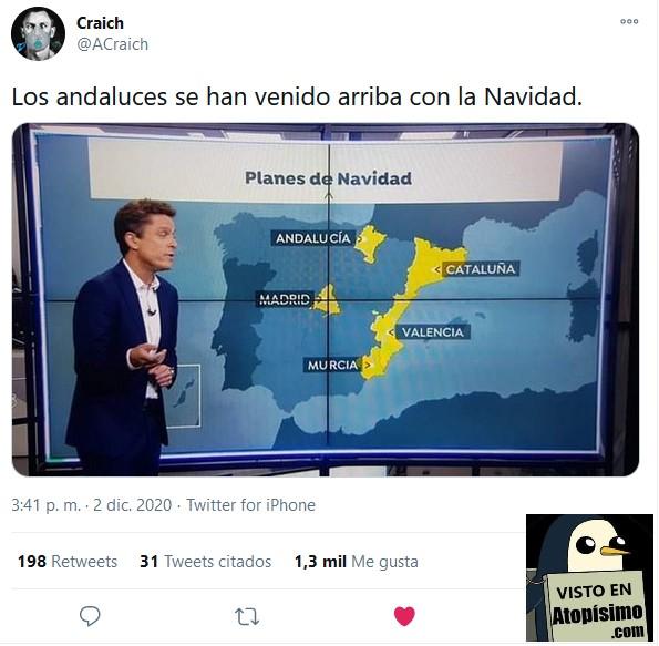 Andalucía donde Navarra Noticias Antena 3