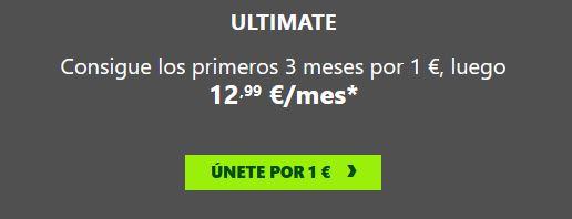 Xbox pass 1€ chollo