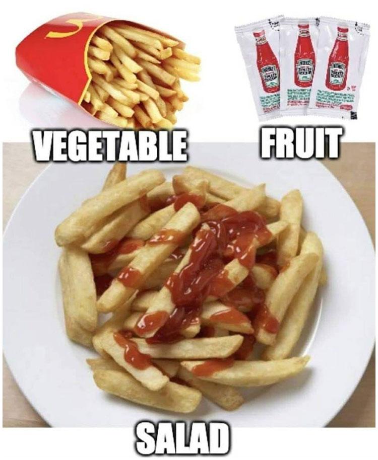 Desde ahora voy a comer sano