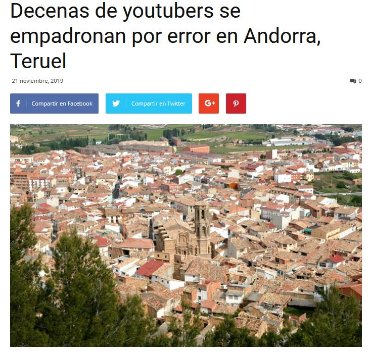 Andorra Teruel Noticia