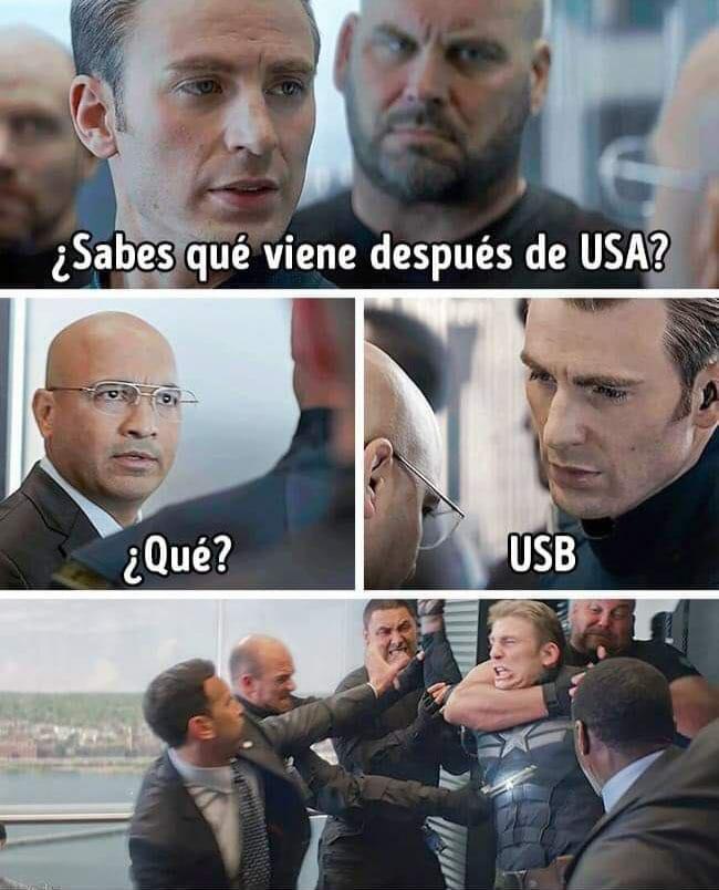 Capitán América USB