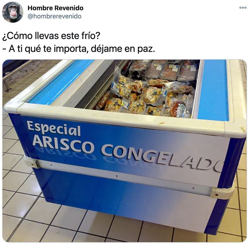Arisco congelado