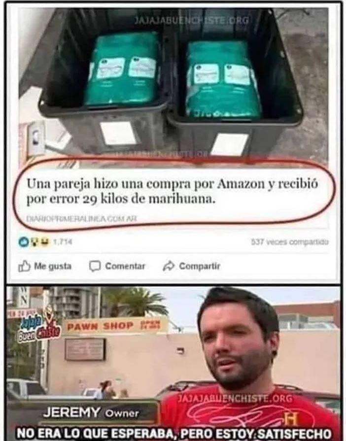 Marihuana por error