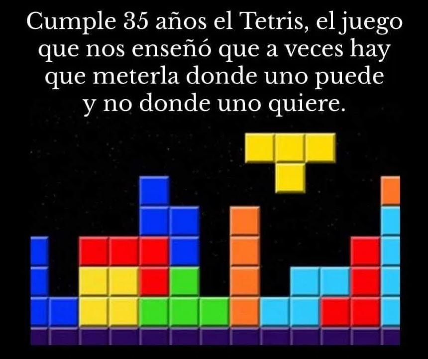 Treinta y cinco años de Tetris