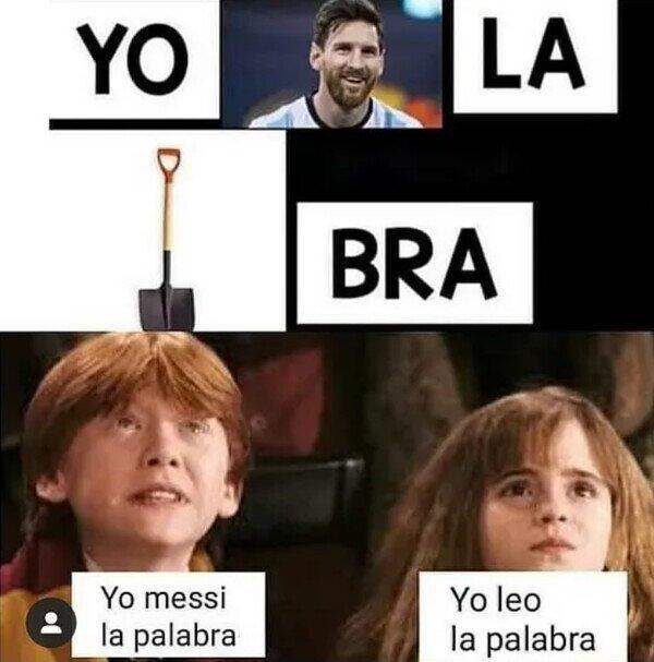 Yo Messi la palabra