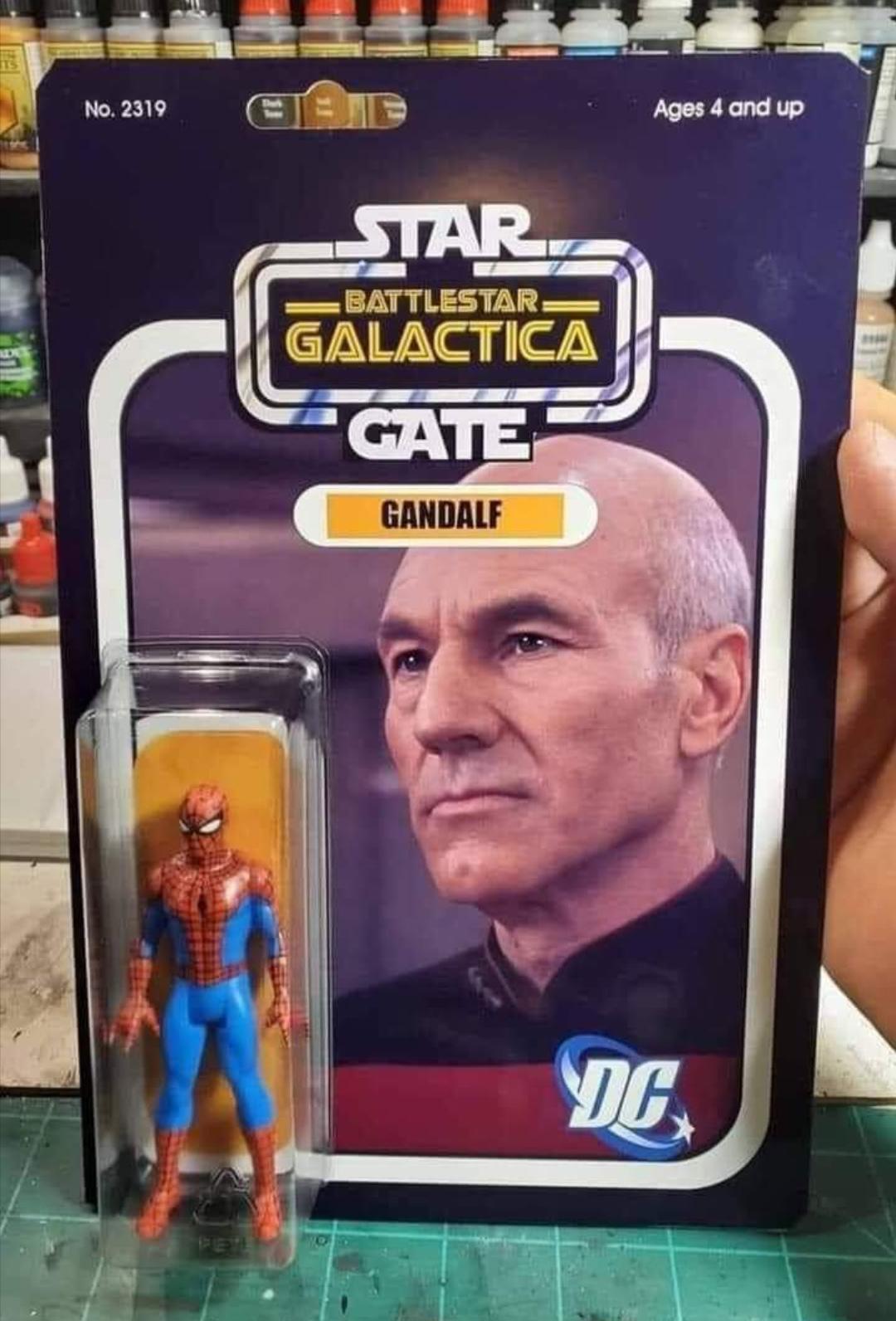 Star Battlestar Galactica Gate Gandalf