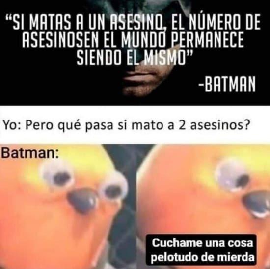 Filosofía nivel Batman