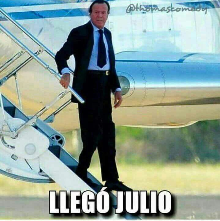 Julio ya está aquí