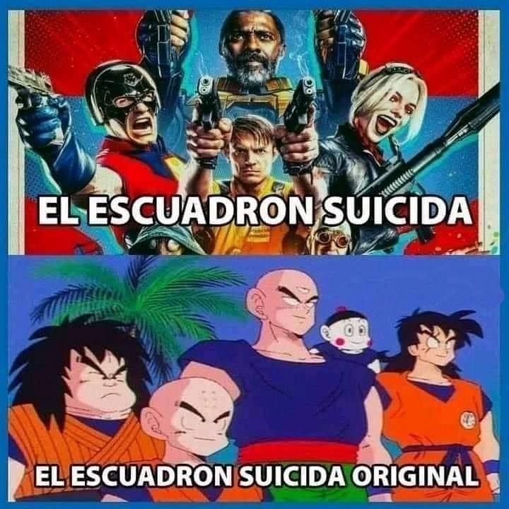 El escuadrón suicida original