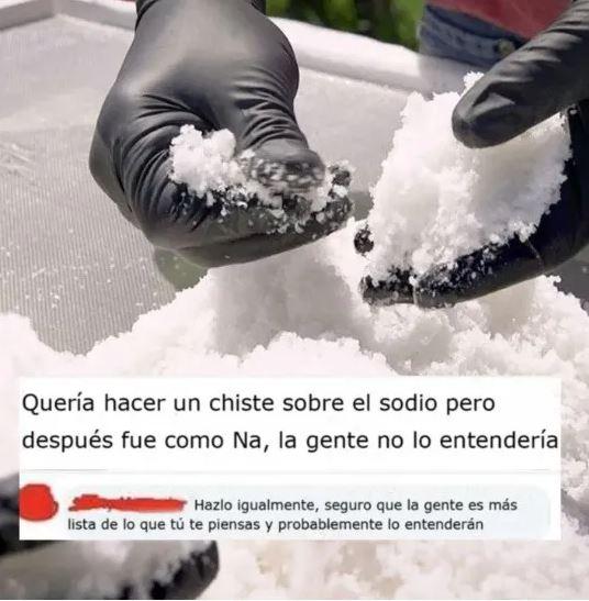 El chiste de la sal